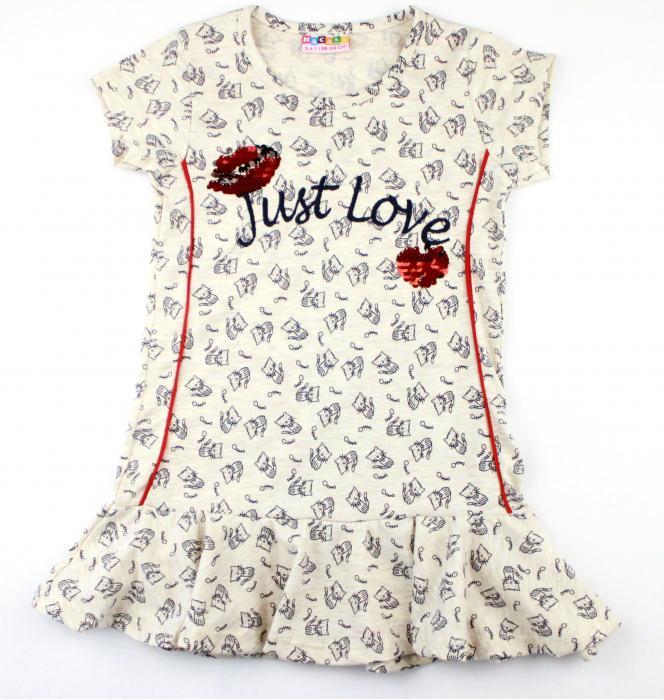 1200296 Платье для девочки рост (104-116-122-128) Турция