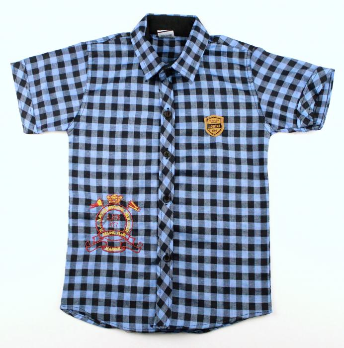 1300503 Рубашка для мальчика рост (110-116-122-128) Турция