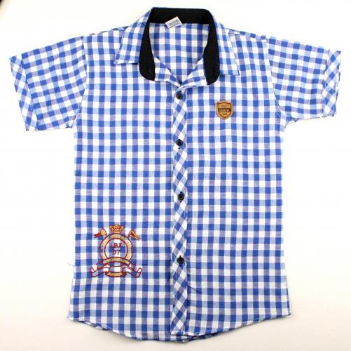 1300521 Рубашка для мальчика рост (128-134-140-146) Турция