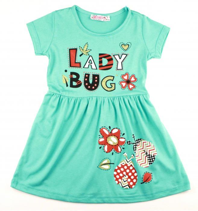 1300522 Платье для девочки рост (98-110-116-122) Турция
