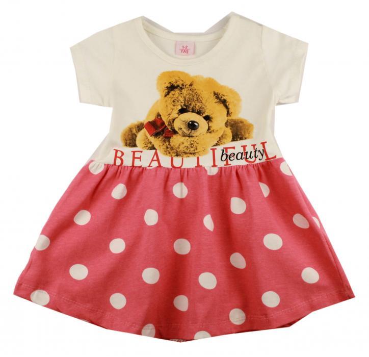 1300523 Платье для девочки рост (86-92-98-104) Турция