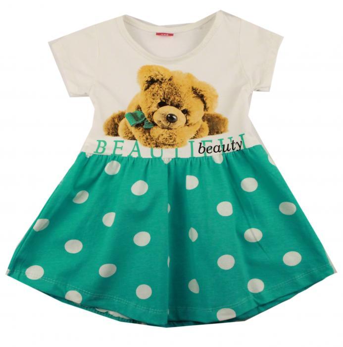 1300524 Платье для девочки рост (86-92-98-104) Турция