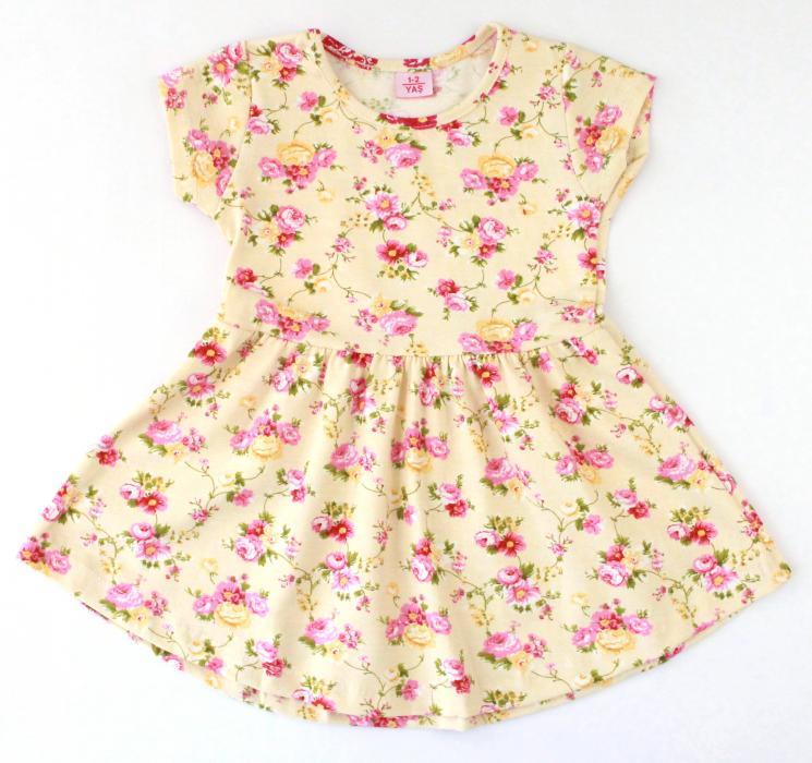 1300552 Платье для девочки рост (86-92-104-110) Турция