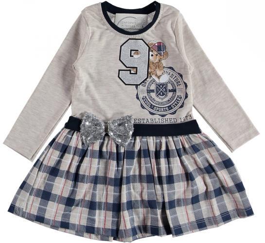 1300678 Платье для девочки рост (92-98-104-110) Турция