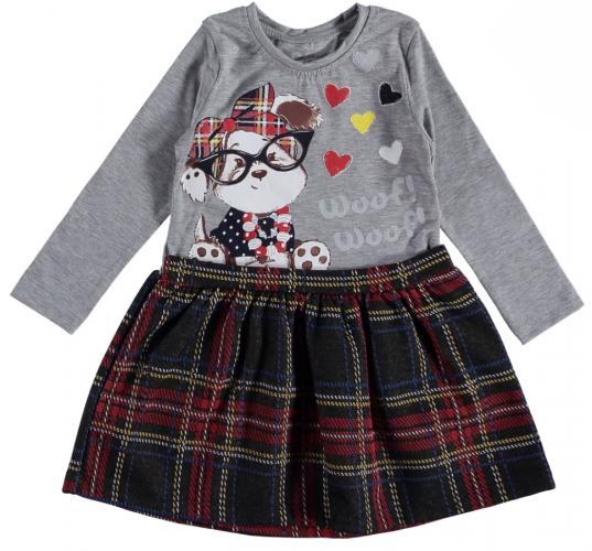 1300679 Платье для девочки рост (92-98-104-110) Турция