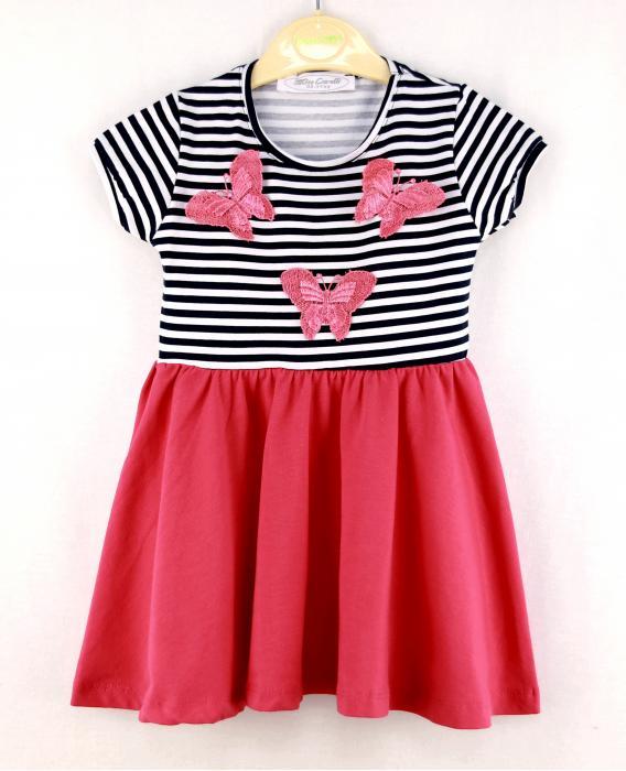 1400134 Платье для девочки рост (98-104-110-116-122-128) Турция