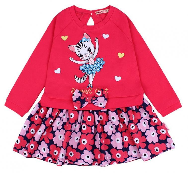 1500507 Платье для девочки рост Bonito (92-98-104-110) Узбекистан