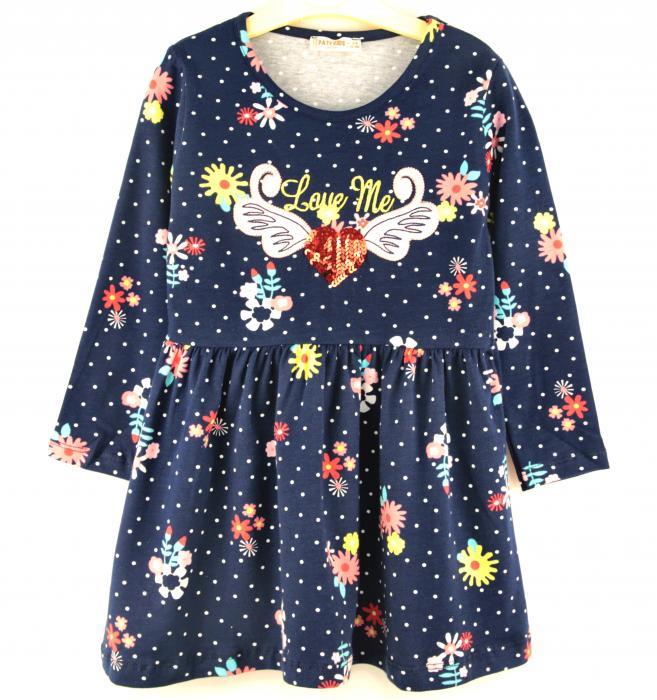 1600115 Платье для девочки рост (92-98-104-110-116) Турция