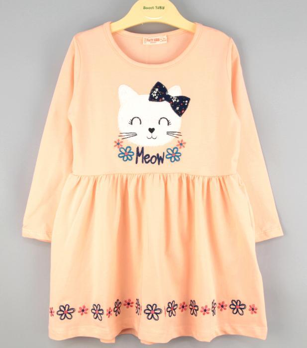 1600123 Платье для девочки рост (92-98-104-110-116) Турция