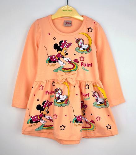 1700137 Платье для девочки рост (86-92-98-104-110) Турция
