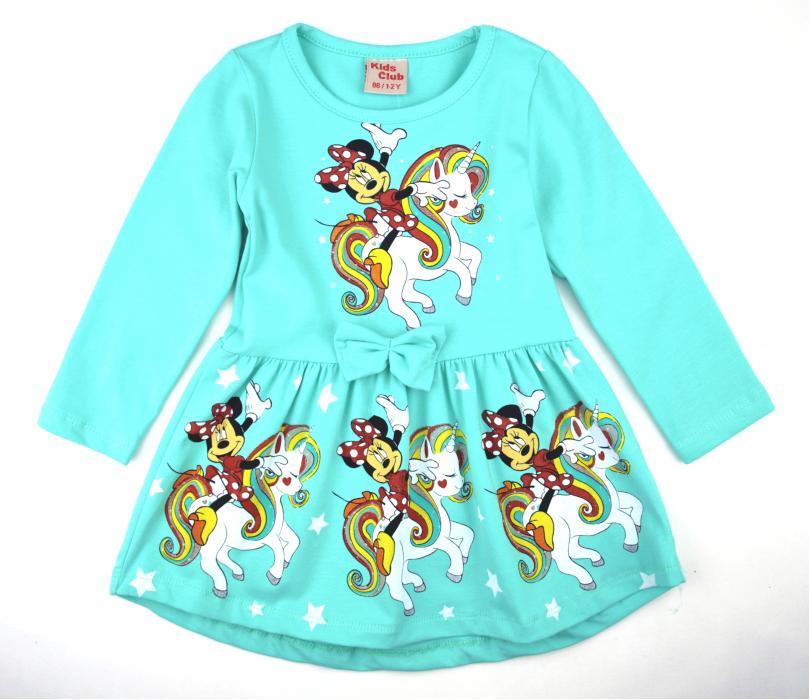 1700278 Платье для девочки рост (86-92-98-104-110) Турция