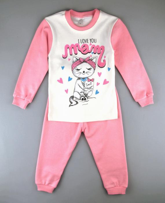 1700314 Пижама для девочки рост ( 92-98-104) Турция