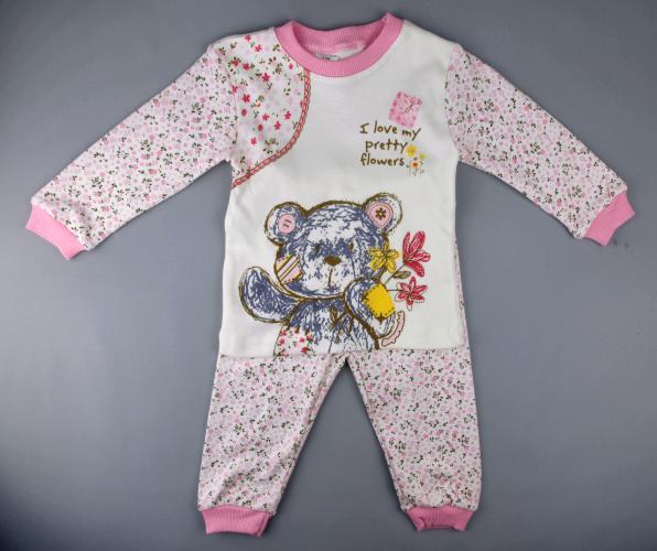1700316 Пижама для девочки рост ( 92-98-104) Турция