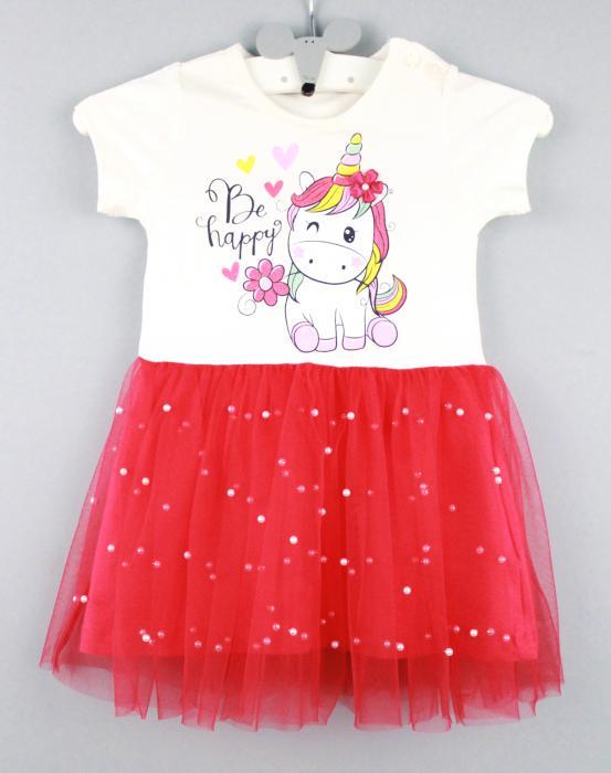 1700509 Платье для девочки рост (86-92-98-104-110) Турция