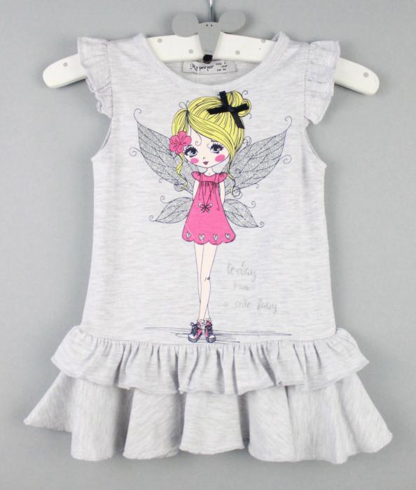 1700512 Платье для девочки рост (92-98-104-110-116) Турция