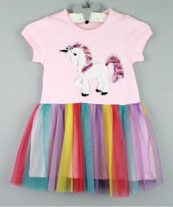 1700513  Платье для девочки рост (92-98-104-110-116) Турция