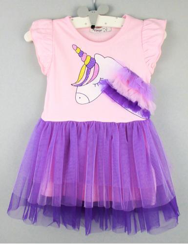 1700514  Платье для девочки рост (92-98-104-110-116) Турция