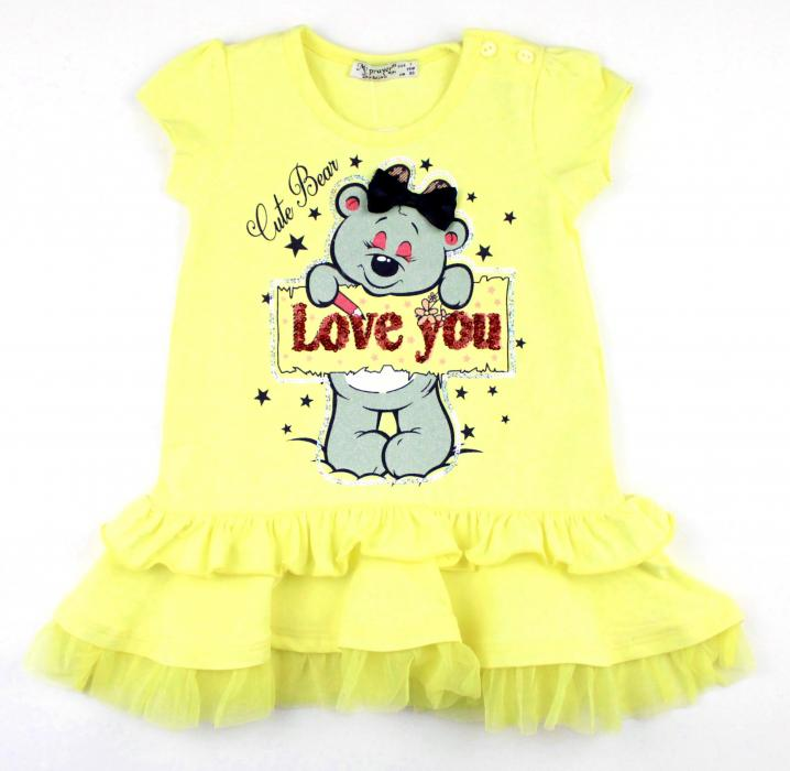 1700515 Платье для девочки рост (86-92-98-104-110) Турция