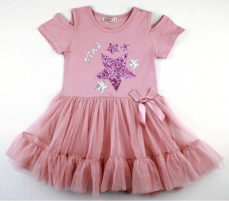 1700516  Платье для девочки рост (98-104-110-116-128) Турция