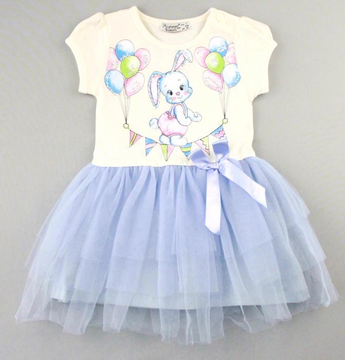 1700568 Платье для девочки рост (80-86-92-98-104) Турция