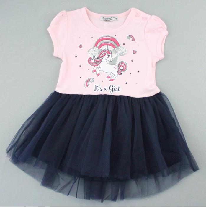 1700569 Платье для девочки рост (80-86-92-98-104) Турция