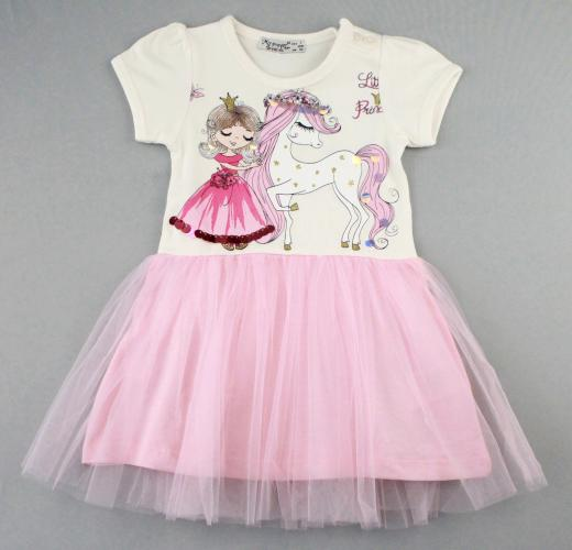 1700571 Платье для девочки рост (80-86-92-98-104) Турция