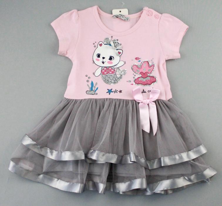 1700572 Платье для девочки рост (80-86-92-98-104) Турция