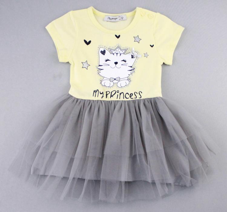 1700573 Платье для девочки рост (80-86-92-98-104) Турция