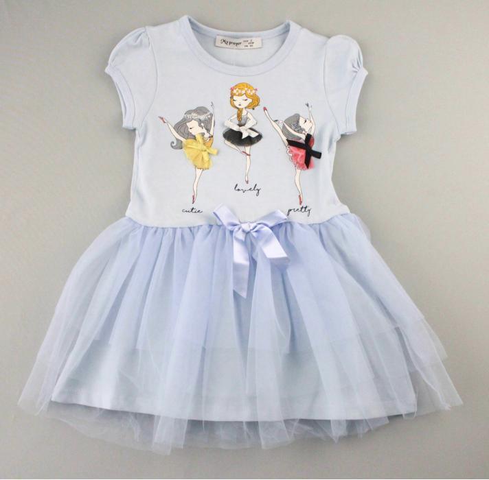 1700576 Платье для девочки рост (92-98-104-110-116) Турция