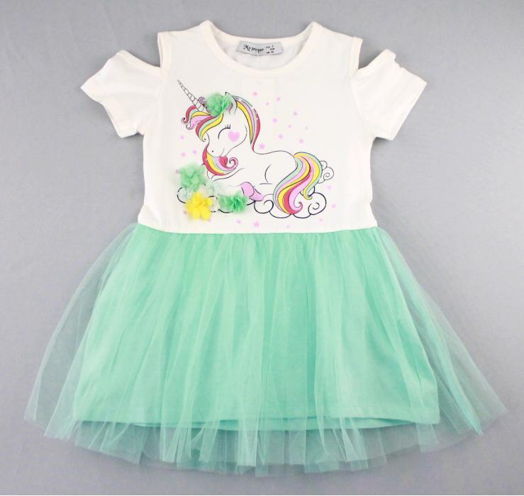 1700577 Платье для девочки рост (92-98-104-110-116) Турция