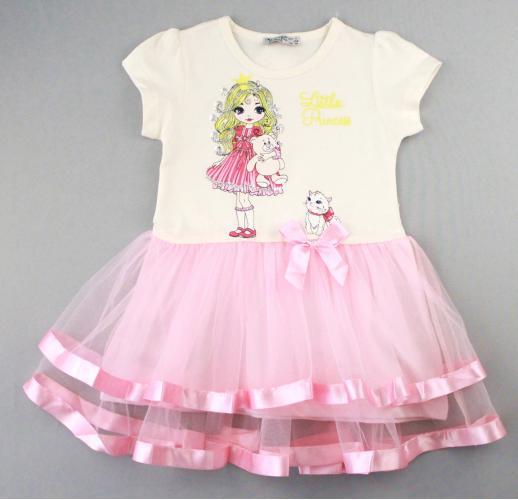 1700578 Платье для девочки рост (92-98-104-110-116) Турция