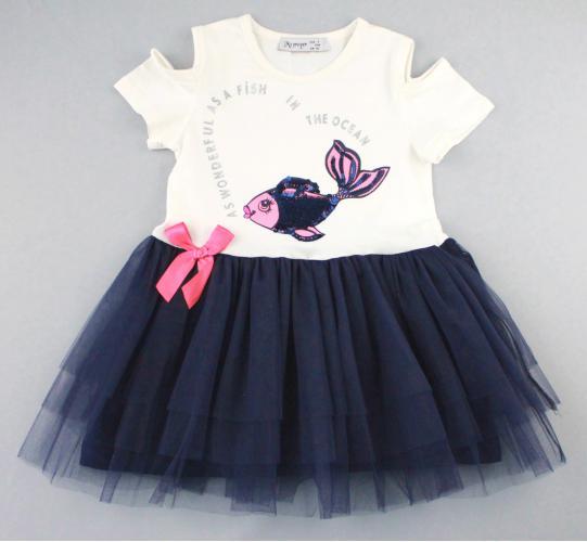 1700600 Платье для девочки рост (92-98-104-110-116) Турция