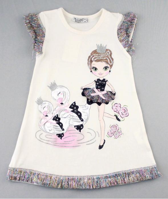 1700580 Платье для девочки рост (92-98-104-110-116) Турция