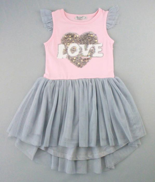 1700581 Платье для девочки рост (98-104-110-116-128) Турция