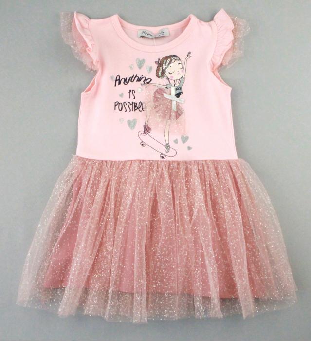 1700582 Платье для девочки рост (92-98-104-110-116) Турция