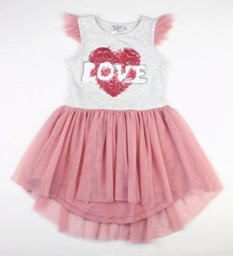 1700597  Платье для девочки рост (98-104-110-116-128) Турция