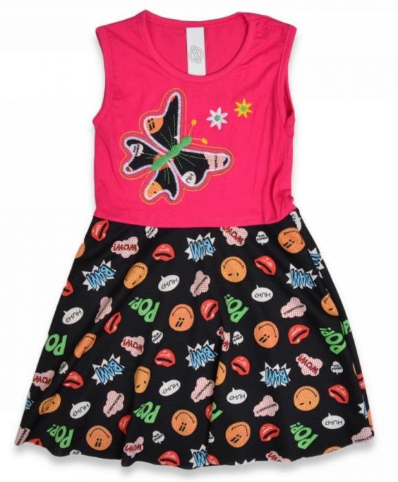 1800293 Платье для девочки рост (104-110-116-122-128) Турция