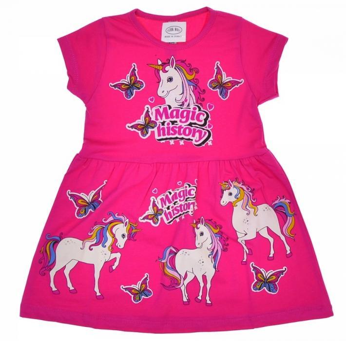 1800338 Платье для девочки рост (92-98-104-110-116) Турция