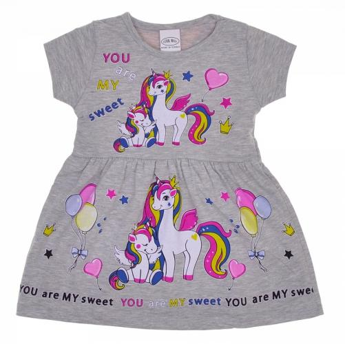 1800339 Платье для девочки рост (92-98-104-110-116) Турция