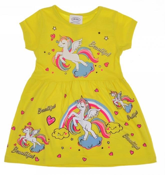 1800342 Платье для девочки рост (92-98-104-110-116) Турция