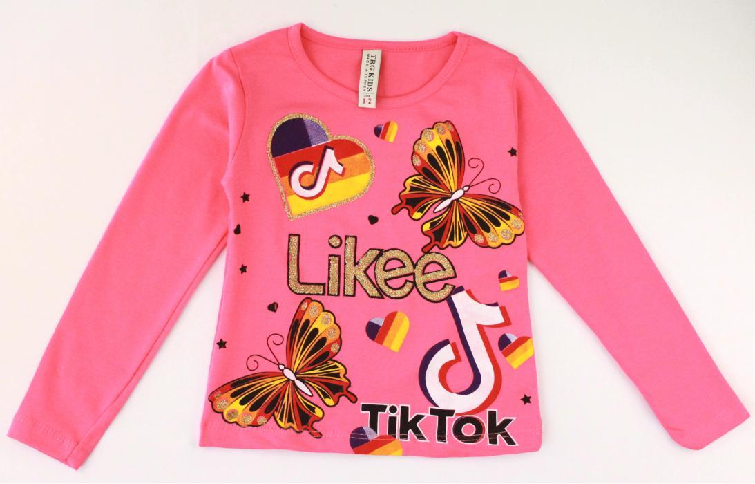 1900146  Кофта для девочки рост (92-98-104-110) Турция