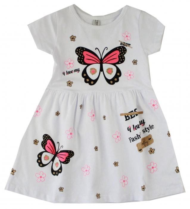 1900156 Платье для девочки рост (92-98-104-110-116) Турция
