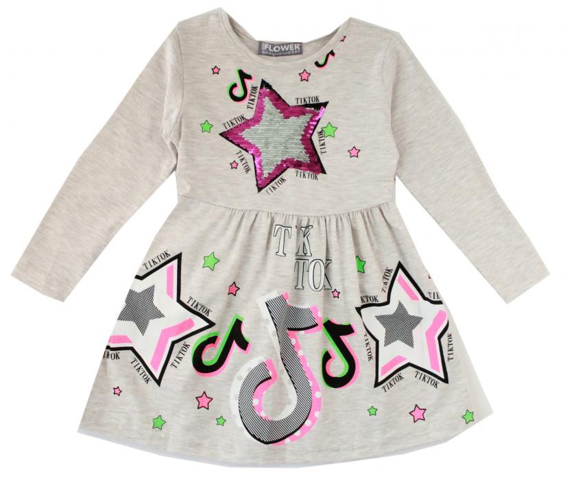 1900160 Платье для девочки рост (92-98-104-110-116) Турция