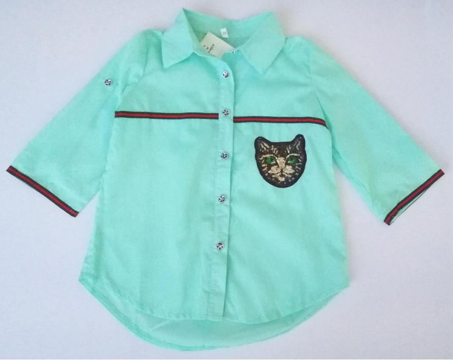 2200119 Блуза для девочки рост (116-122-128)