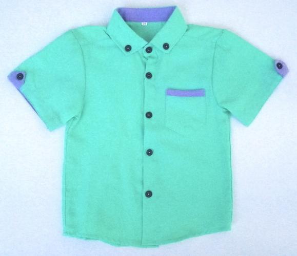 2200127 Рубашка для мальчика рост (92-98-104-110-116)