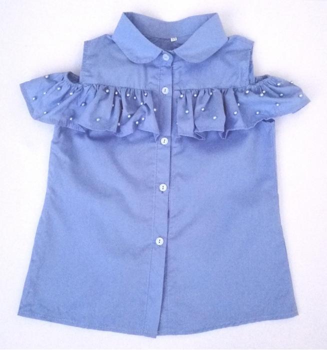 2200138 Блузка для девочки рост (116-122-128-134)
