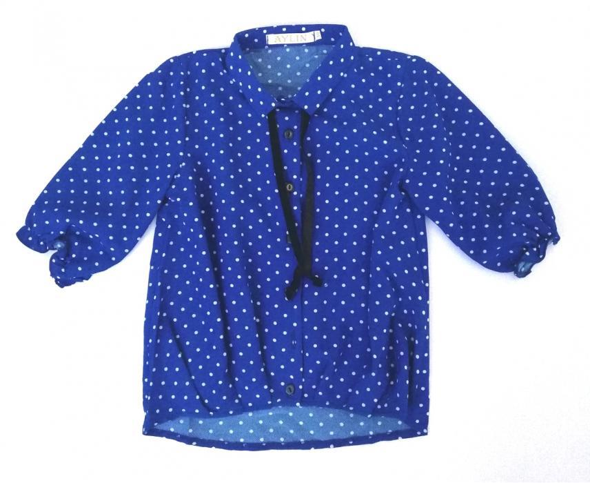 2200140 Блузка для девочки рост (122-128-134)