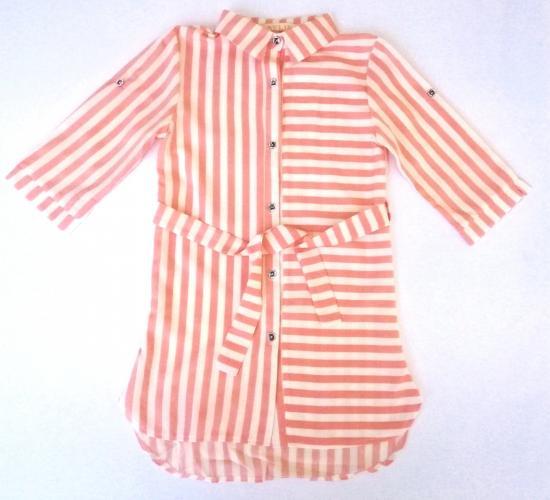 2200143 Рубашка для девочки рост (122-128-134-140)