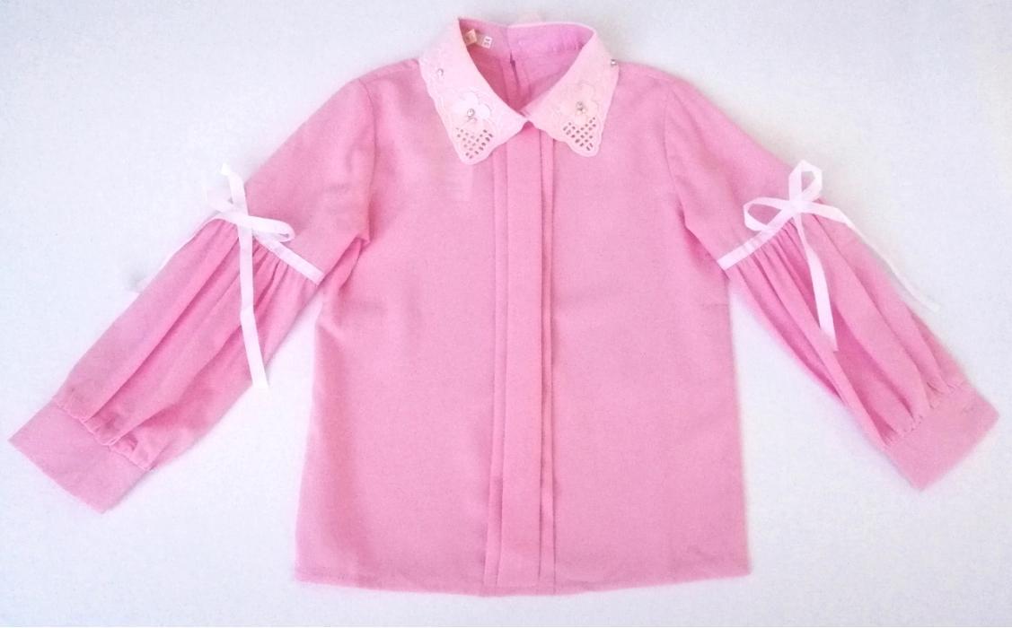 2200146 Блузка для девочки рост (110-116-122-128-134)