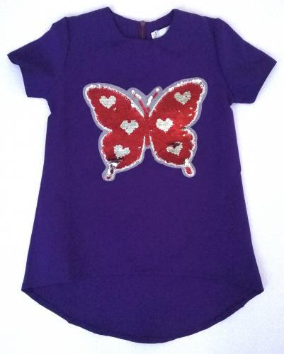 2200149 Блуза для девочки рост (116-122-128-134)